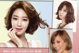 Những kiểu tóc phù hợp với gương mặt trái xoan