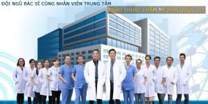 đội ngũ bác sĩ cùng nhân viên phẫu thuật thẩm mỹ hàn quốc 3D